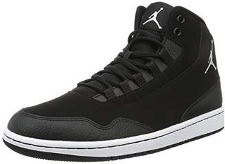the latest b48cb ca98c Nike Boys   Jordan Executive Basketball Shoes Black White