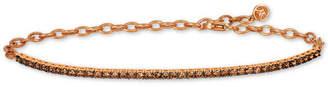 LeVian Le Vian Chocolatier® Diamond Adjustable Tennis Bracelet (1-1/4 ct. t.w.) in 14k Gold