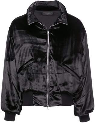 Amiri high neck bomber jacket