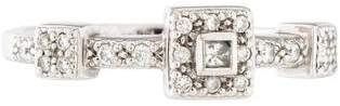 Charriol Pavé Square Diamond Ring