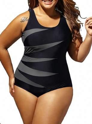 33398bcec1 at Amazon Canada · Binwwede Plus Size Women High Waist Bikini Set Push-up  Padded Swimwear Swimsuit Beachwear (