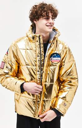 Champion Metallic Puffer Jacket