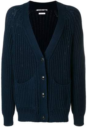 Common Wild knitted buttoned cardigan