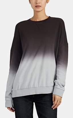ATM Anthony Thomas Melillo Women's Ombré Cotton French Terry Crewneck Sweatshirt - Gray