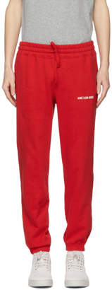 Camper Aime Leon Dore Red Logo Lounge Pants