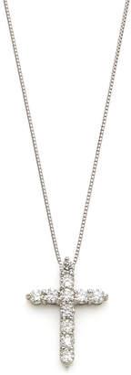 GIANTTI プラチナ ダイヤモンド0.50ct パヴェクロス ネックレス プラチナ