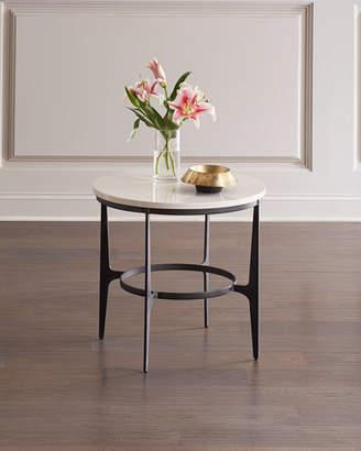 Bernhardt Avondale Round Metal End Table