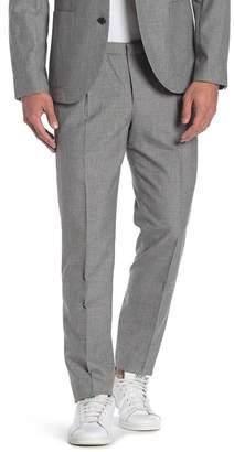 14th & Union Melange Elastic Waist Suit Separates Pants