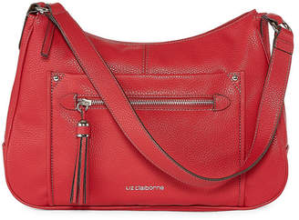 Liz Claiborne Julie Top Zip Satchel