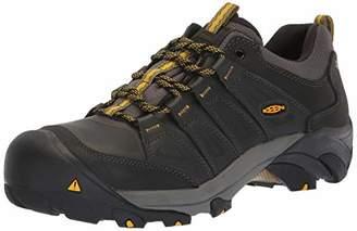 Keen Men's Boulder Steel Toe Waterproof Industrial Shoe