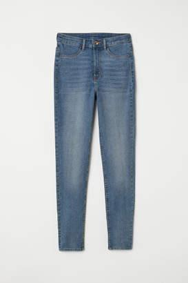 H&M Petite Fit Super Skinny Jeans - Blue