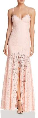 Fame & Partners The Babe Lace Gown