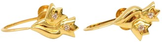 Christian Dior Vintage Gold Yellow gold Earrings