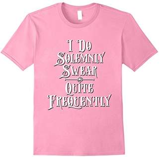 I Do Solemnly Swear Quite Frequently Funny Sarcastic Shirt