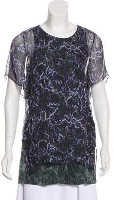 Theyskens' Theory Printed Overlay Top