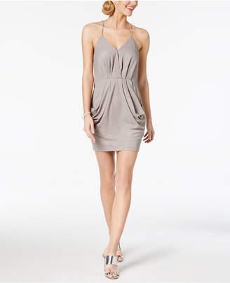 BCBGMAXAZRIA Draped A-Line Dress