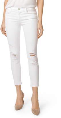 J Brand 9326 Low Rise Crop Skinny Jeans