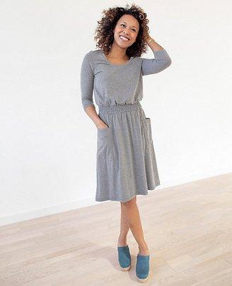 Women Soft Smocked Slipover Dress $98 thestylecure.com