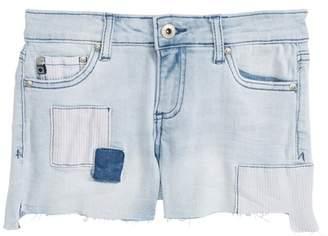 AG Jeans The Tarni Patch Cutoff Denim Shorts (Big Girls)