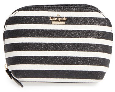 Kate Spade Kate Spade New York Small Glitter Annabella Cosmetics Case