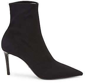 Prada Women's Technical Fabric Stiletto Booties