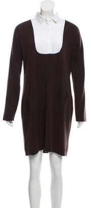 Fabiana Filippi Wool Knee-Length Dress