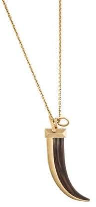 Chloé Horn Pendant Necklace