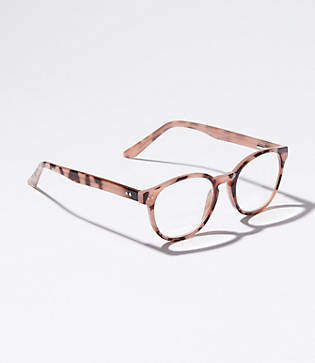 LOFT Round Keyhole Reading Glasses