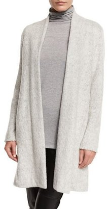 Eileen Fisher Brushed Terryl Kimono Knee-Length Coat $498 thestylecure.com