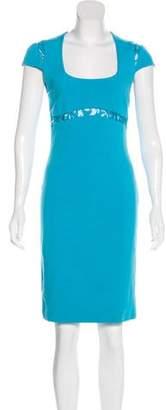 Emilio Pucci Short Sleeve Midi Dress