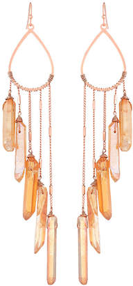 Nakamol Angled Quartz Drop Earrings