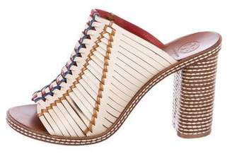 Tory Burch Multistrap Slide Sandals