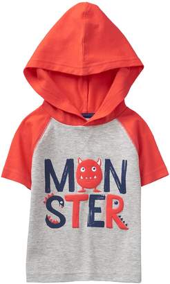 Crazy 8 Crazy8 Toddler Monster Hooded Tee
