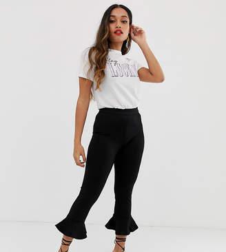 New Look Petite Peplum Hem Pants