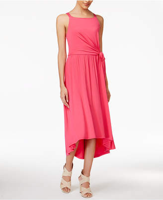 Maison Jules Tie-Waist Midi Dress, Only at Macy's $69.50 thestylecure.com