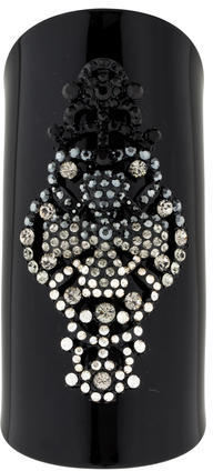 Christian LacroixChristian Lacroix Crystal Embellished Resin Cuff
