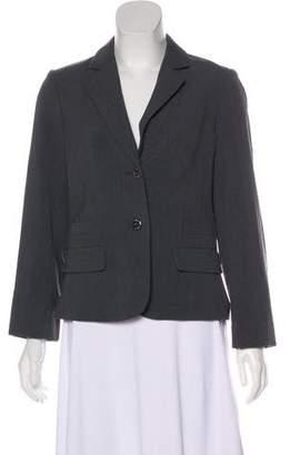 Calvin Klein Notch-Lapel Button-Up Blazer