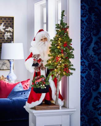 Ditz Designs By The Hen House Christmas Magic Table Top Santa