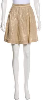 See by Chloe Linen Mini Skirt