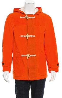 Schott NYC Perfecto Brand by Hooded Toggle Jacket