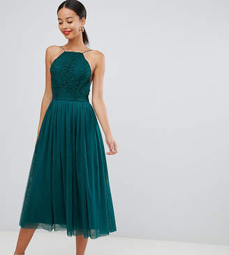 Asos Tall DESIGN Premium Tall tulle midi prom dress