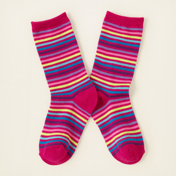 Children's Place Striped crew socks