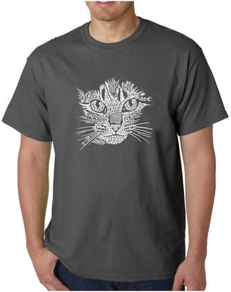 LOS ANGELES POP ART Los Angeles Pop Art Catface Logo Graphic T-Shirt-Big and Tall