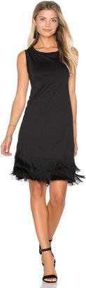 Splendid Fringe Sleeveless Mini Dress $128 thestylecure.com