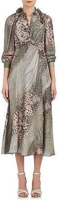 Mayle Maison Women's Vander Pierre Silk Satin Dress