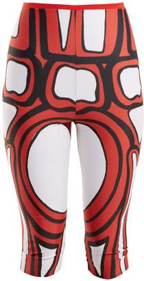 MATTY BOVAN Aztec-print leggings