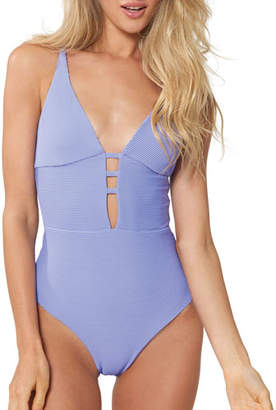 Red Carter Riviera Sunset One-Piece Swimsuit