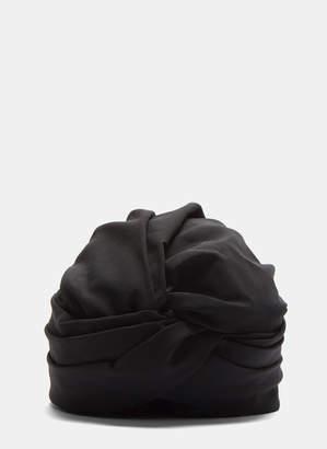 Flapper Women's Genoveffa Turban Hat in Black