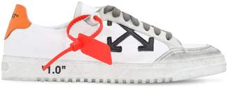 Off-White Off White 2.0 LEATHER & SUEDE SNEAKERS