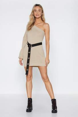 Nasty Gal Shoulder and Wiser Sweater Dress